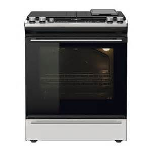 Cooktop Range Nutid Slide In Range With Gas Cooktop Ikea