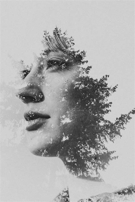 double exposure face tutorial using multiple exposures to create abstract photographs
