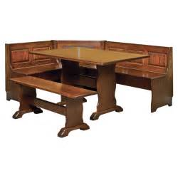 Kitchen Nook Furniture Set by Amish Breakfast Nooks Amish Furniture Shipshewana