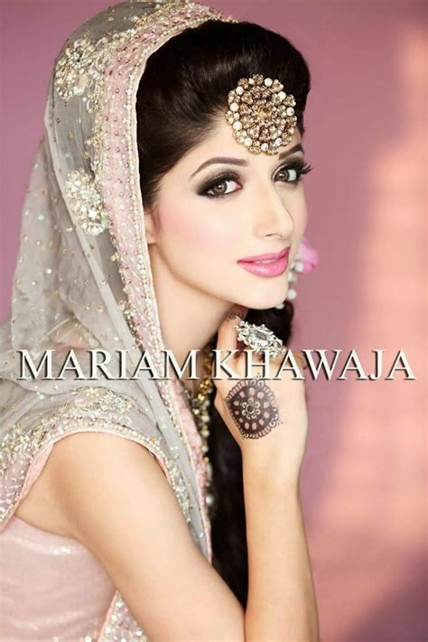 New Bridal Pics by New Bridal Makeup Ideas By Mariam Khawaja From 2014 15