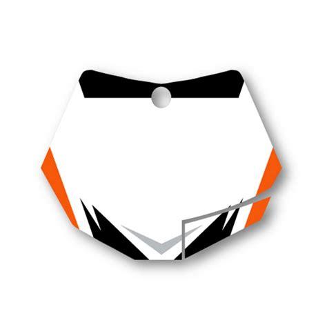 blank motocross stellar mx hart huntington graphics kit ktm mainmoto