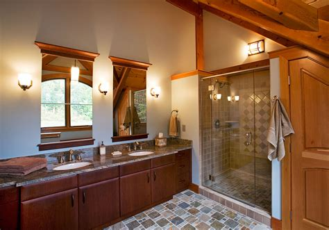 New Bathroom Designs Rustic Contemporary Bathrooms Fit In With A Timber Frame