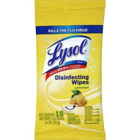 lysol lemon scent disinfecting wipes  sheets walmartcom