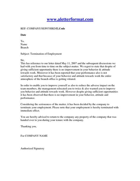 nice termination letter business mentor
