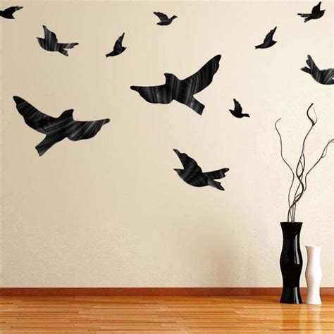 flying bird wall stickers flying birds decal animal wall decal murals primedecals