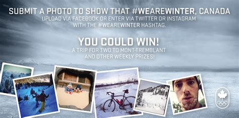 contest canada 2014 canadian olympic team wearewinter contest