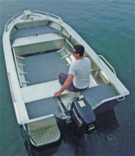 Light Up Troline by Fishing Monthly Magazines Anglapro S Chaser 424 Spec