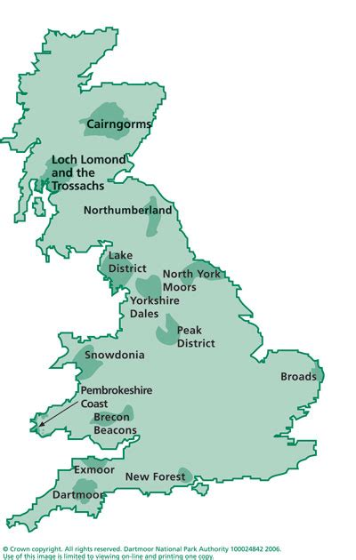 map uk national parks archived content maps