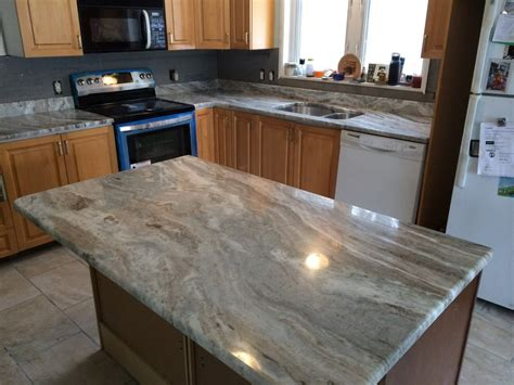 Brown Kitchen Cabinets With Granite Countertops by Functionality Brown Granite The Wooden Houses
