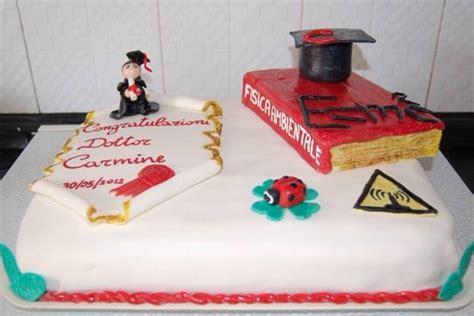 187 torta di laurea con pasta di zucchero ricetta torta di