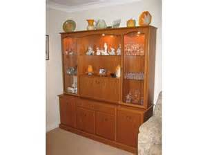 Display Cabinets Glasgow Teak Finish Display Drinks Cabinet By Morris Furniture Of