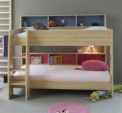 kids bedroom ideas lighting and beds for kids house modern kids bedroom with unstained wooden oak bunk bed