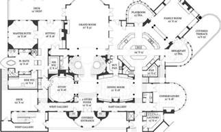 mansion floor plans castle plans castle house luxury mansion house plans 6259
