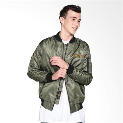 Jaket Pria Bomber Soundefex Hijau jual hemmeh jaket bomber hijau harga
