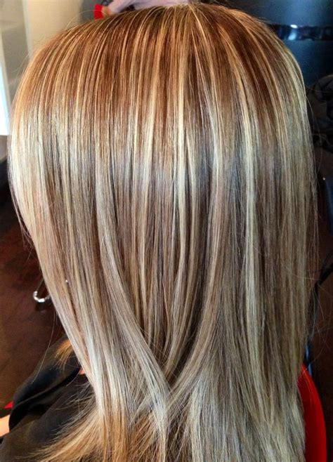 This Beautiful Hair Color Was Created By Foiling The Top | this beautiful hair color was created by foiling the top