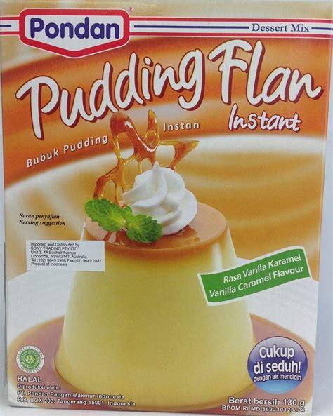 Haan Flan Mix Tepung Flan Rasa Tiramisu Flavour Soft Puding Lembut instant flan mix