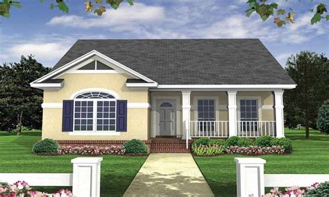 Small In Home Economical Small Cottage House Plans Small Bungalow House