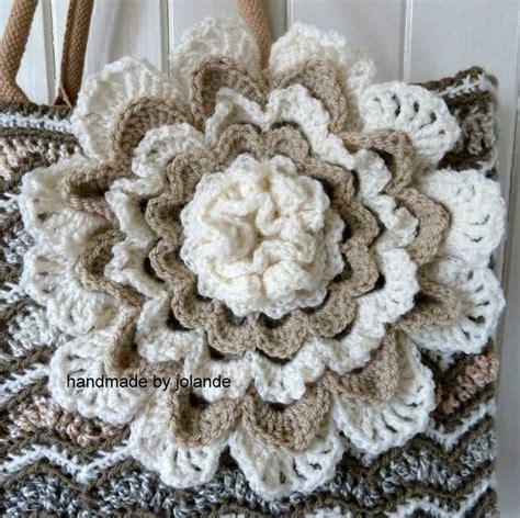bloem haken patroon gratis 25 beste idee 235 n over gehaakte tas patronen op pinterest