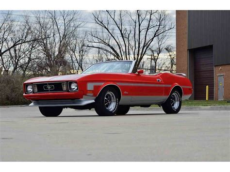 1973 ford mustang 1973 ford mustang for sale classiccars cc 973609