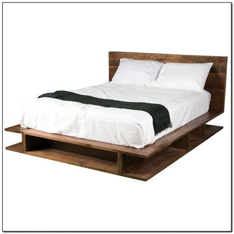 queen platform bed frame target home design ideas