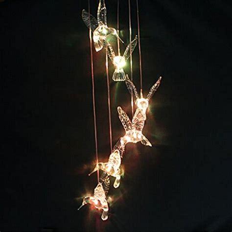 Image 174 Windlights Solar Powered Led Changing Light Color Solar Powered Hummingbird Lights