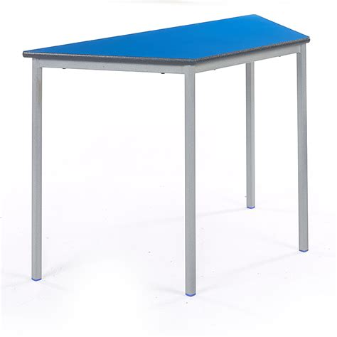 Trapezoidal Classroom Desk Stacking Tables Classroom Table Desk For