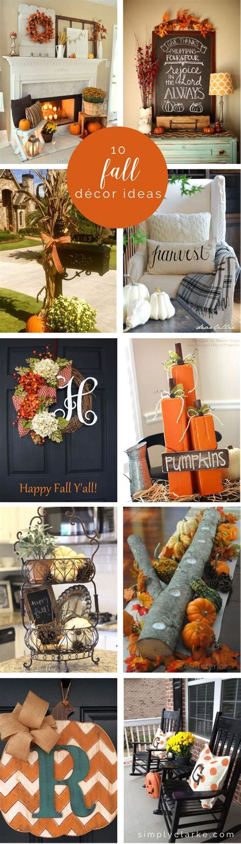 10 fall decor ideas inspiration holidays and autumn