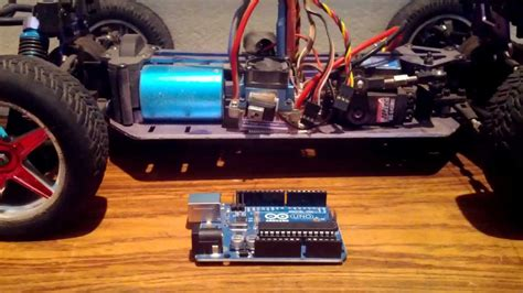 arduino tutorial rc car hardware setup for rc car controlled by an arduino and ps3