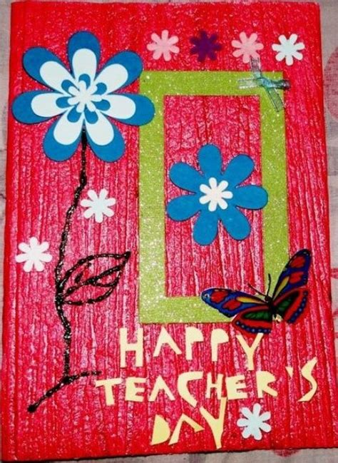 How To Make Handmade Greeting Cards For Teachers Day - 17 best images about handmade teachers day cards 2015 2016