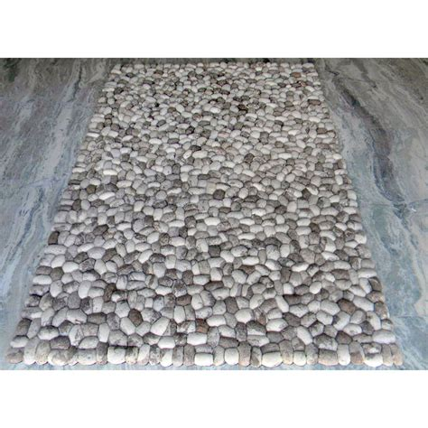 gray rug modern rugs pebbles gray area rug wayfair