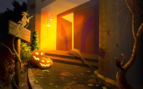 halloween themes hd halloween house witches wallpapers and images