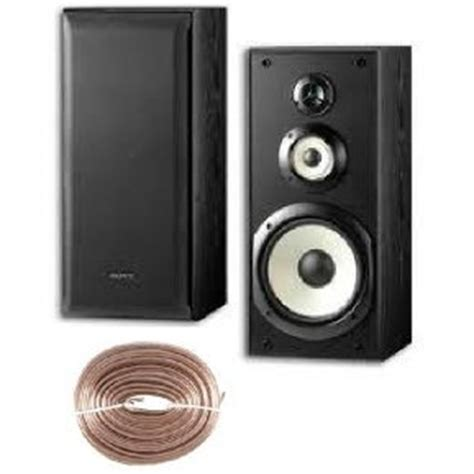 sony powerful 120 watts 3 way 8 quot bookshelf