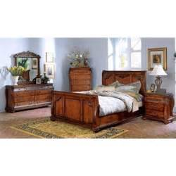 chateau frontenac 5 pc sleigh bedroom set