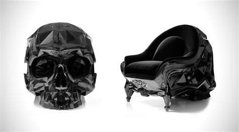 skull armchair by harow hiconsumption