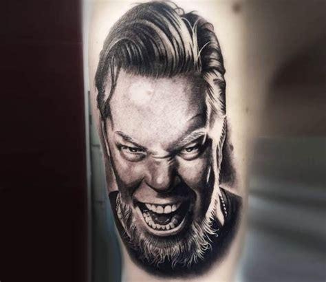 James Hetfield tattoo by Cox Tattoo | Post 20298 James Hetfield Tattoos 2017