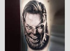 James Hetfield tattoo by Cox Tattoo | Post 20298 James Hetfield Tattoos 2017