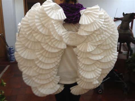 como hacer unas alas de angel caseras alas hechas con filtros de caf 233 artividades
