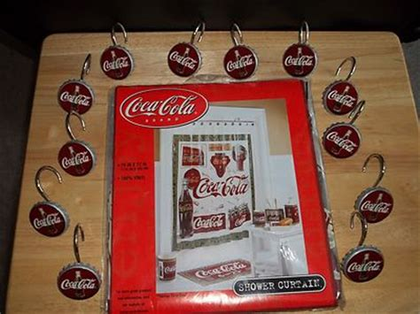 coca cola bathroom decor coca cola bathroom accessories coca cola bathroom decor set 13 items ebay coca cola