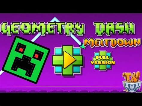 geometry dash full version game geometry dash meltdown download full version