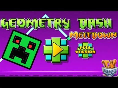 geometry dash meltdown download full version