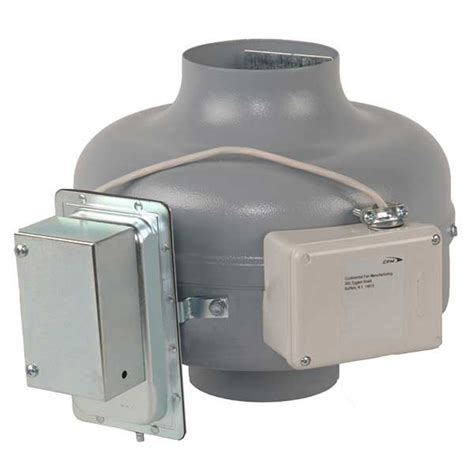 dryer vent exhaust booster fan lint trap continental fan