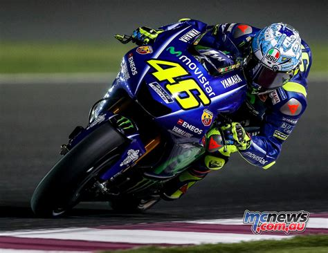 motor gp valentino worried about lack of pace in qatar