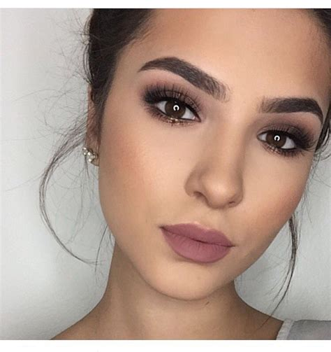 makeup naturales simple pretty and makeup ideas for brown