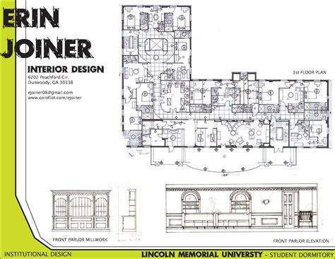 lincoln memorial floor plan lincoln memorial university institutional design by erin