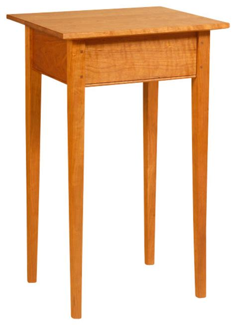 shaker style end table shaker style side table cherry traditional