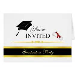 formal graduation invitations customize stationery note card zazzle