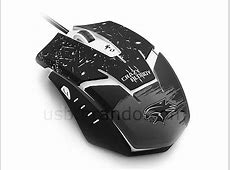 USB Crazy Bloody Gaming Mouse Mouse And Keyboard Support