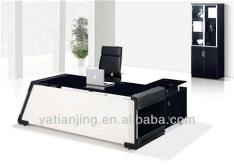 Best Office Table Design by Modern Glass Top Office Table Design Buy Modern Glass