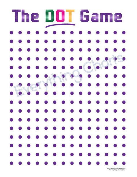 printable dot games the dot game pdf files printables