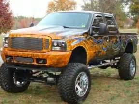 Cool Ford Trucks Awesome Customized And Lifted Ford Truck With Cool Paint